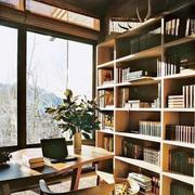 复古典雅的书房