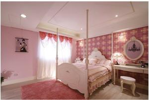 美式古典儿童房装修效果图