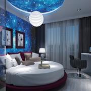 梦幻唯美酒店卧室