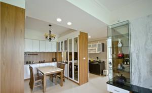 日式大户型厨房餐厅设计