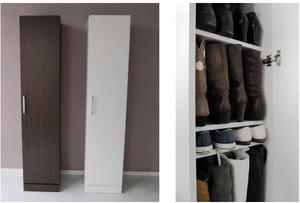 韩式时尚鞋柜装修设计效果图