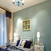 舒适绿色家居卧室