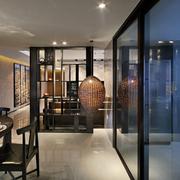现代简约新中式厨房餐厅