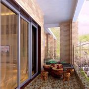 现代2层复式别墅简约欧式
