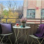 时尚舒适的阳台