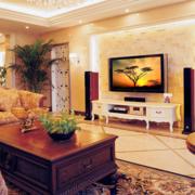 唯美现代大户型客厅
