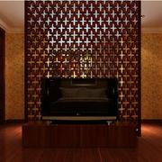 客厅背景墙隔断设计