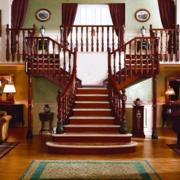 传统型楼梯装修图片