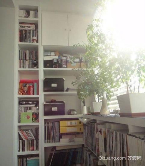15平米小阳台改书房装修效果图