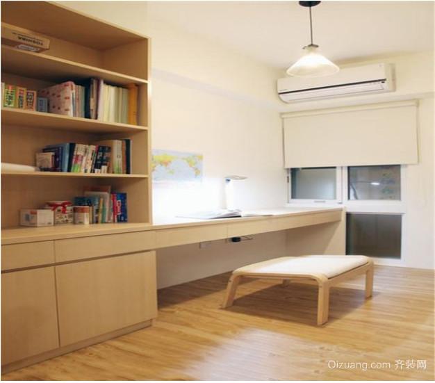 日式书柜装修设计效果图