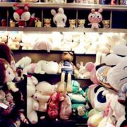 可爱的玩具店设计