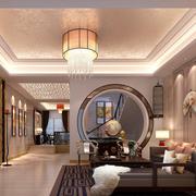 大户型新中式客厅