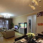 自然风格别墅客厅设计
