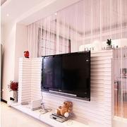粉色调客厅设计图片