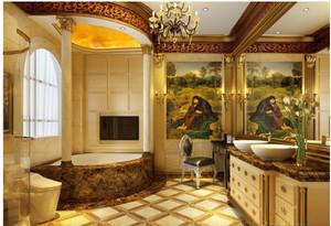 欧式奢华系列卫生间效果图