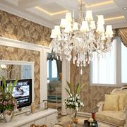 客厅水晶灯展示