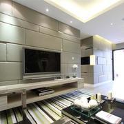 深色调客厅设计图片