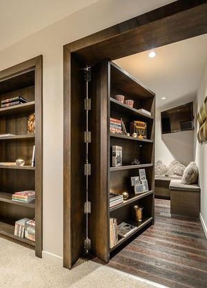 置物柜隐形门设计