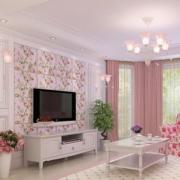 客厅甜美装潢欣赏