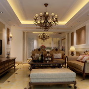 典雅尊贵气质的客厅