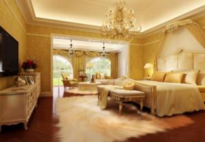 欧式奢华卧室装修效果图大全