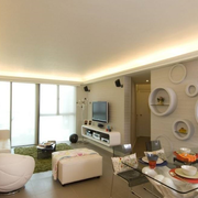 单身小公寓客厅图片