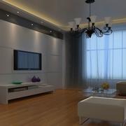 简约现代化的客厅