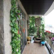 复式楼阳台绿化