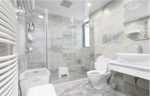 清新型别墅卫生间