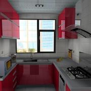 唯美型厨房装修图片