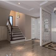 现代简约小家庭楼梯