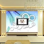 新颖独特的客厅背景墙