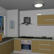 淡色调厨房装修图片