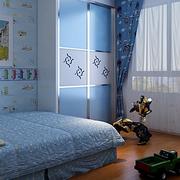 蓝色梦幻儿童房欣赏