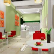 绿色清新店面装潢欣赏