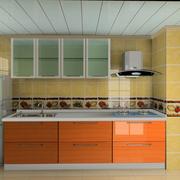 混搭色现代简约厨房