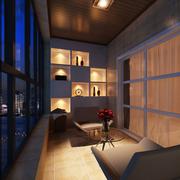 温暖小户型阳台