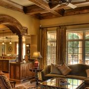 古典优雅美式客厅