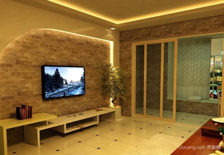 混搭风格家居客厅装修效果图