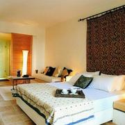 公寓卧室木地板设计