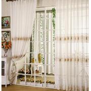 温馨前卫的客厅窗帘