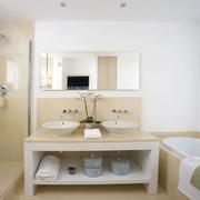浴室背景墙装修图片