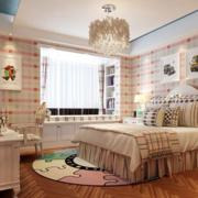 唯美风格儿童房效果图
