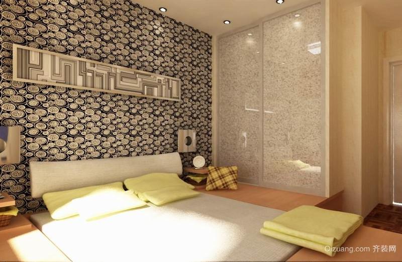 90平米大户型日式卧室榻榻米床装修效果图