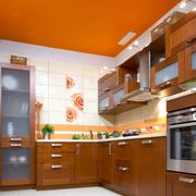 时尚风格三室一厅厨房