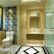 别墅洗手间隔断设计