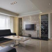 现代化的客厅展示