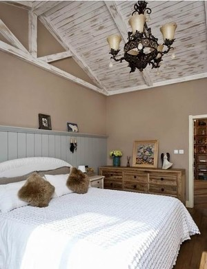 独特创意卧室吊顶造型装修效果图