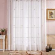 现代唯美的客厅窗帘