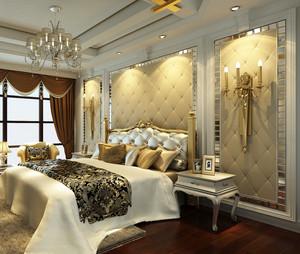 豪华别墅主卧室
